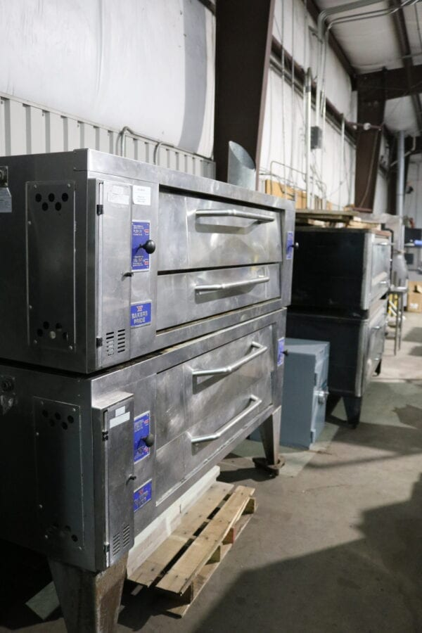 Used Baker's Pride Double Deck Pizza Oven