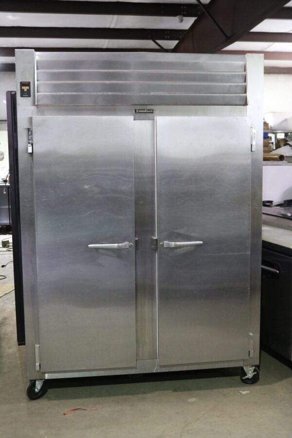 Used Traulsen Two-Door Refrigerator