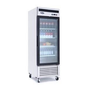 Atosa MCF8701GR Bottom Mount One-Glass Door Freezer