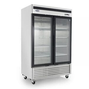 Atosa MCF8703GR Two-Section Two-Door Freezer