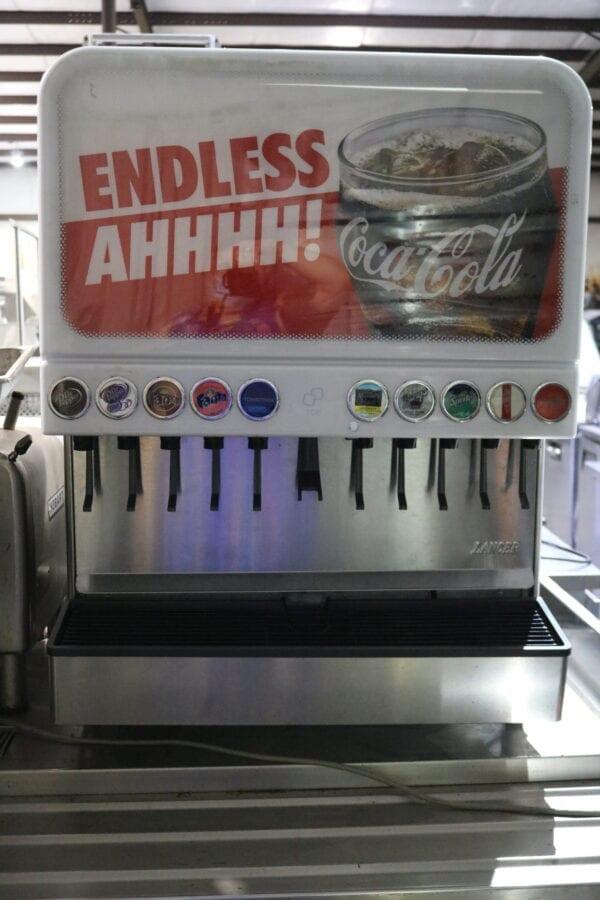 Commercial Stainless-Steel Juice Dispenser