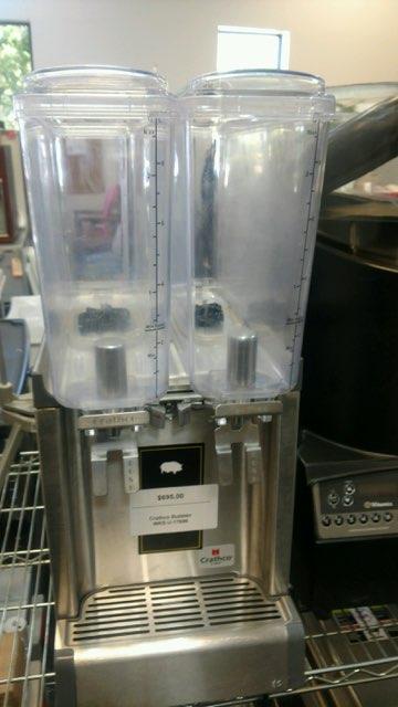 Double Commercial Juice Dispenser