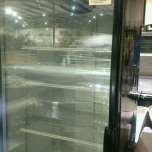 Used Metal Frio Glass Door Refrigerator
