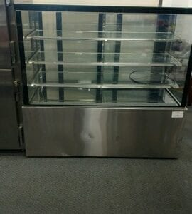 Refrigerated Glass Food Display Cases