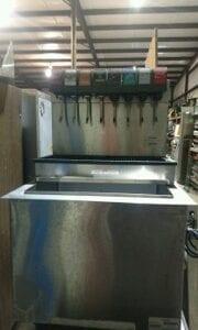 Stainless-Steel Commercial Beverage Dispenser